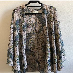 Staring at Stars floral cape